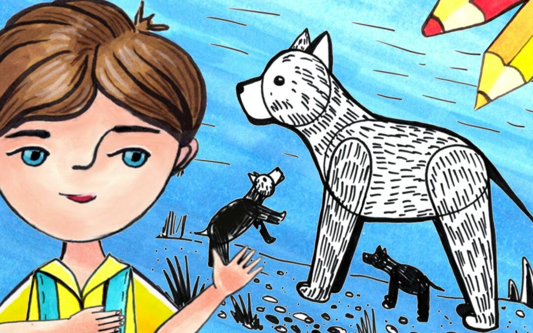 Как нарисовать собаку?